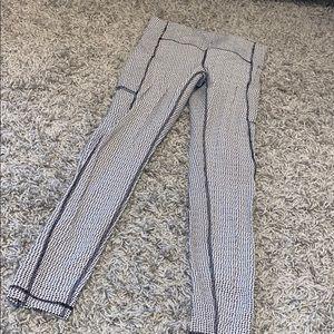 Lululemon B&W Full Length Leggings